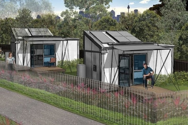 Category homelessness safegrowth inspire neighborhood for Foundation tiny house builders